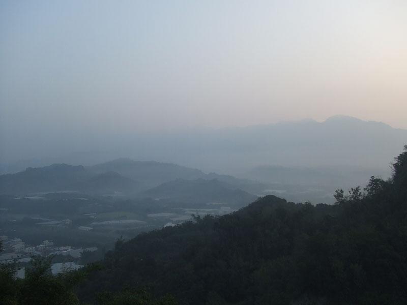 遠眺曾文群山