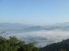 遠眺曾文群山與雲