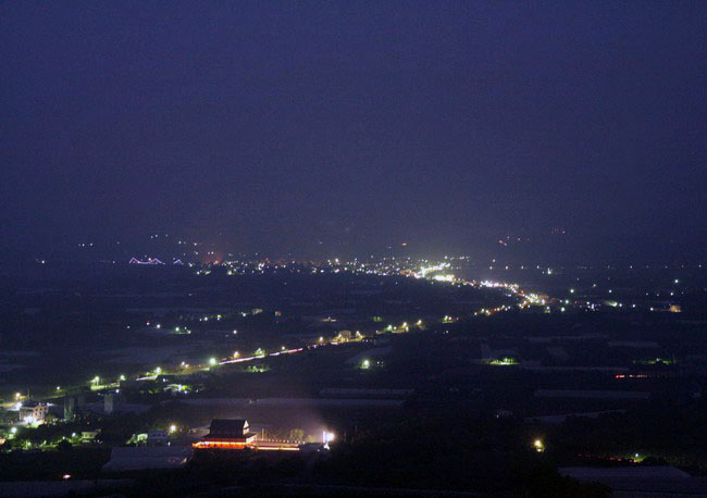 瑪莎園夜景